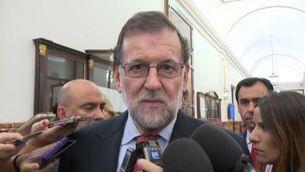 Rajoy afirma que sap el que ha de fer a Catalunya per impedir que es faci el referèndum