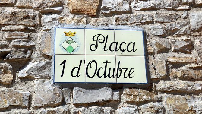Vilagrasseta ja té la primera plaça dedicada a l'1-O