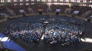 Més de 1.000 músics al Tàrraco Arena