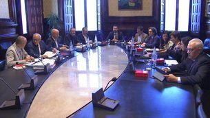 JxCat i ERC trenquen la unitat en la mesa del Parlament