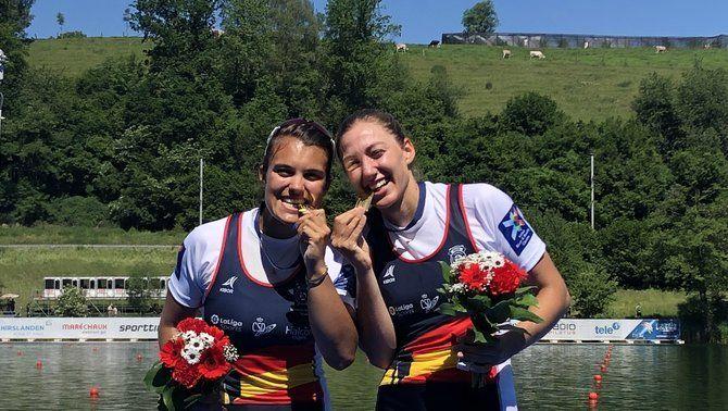 Aina Cid i Virginia Díaz, campiones d'Europa de rem a Lucerna