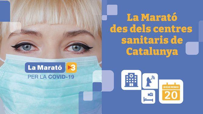 La Marató 2020 es viurà en directe des dels centres sanitaris de Catalunya