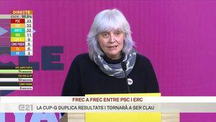 """Dolors Sabater (CUP-G): """"Volem que els grans consensos de país siguin el pilar de la legislatura"""""""
