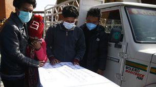 Milers de nepalesos han perdut la vida treballant a les obres del Mundial de futbol de Qatar del 2022 (Europa Press)