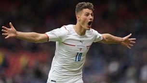 Patrik Schick anota el millor gol d'aquesta Eurocopa