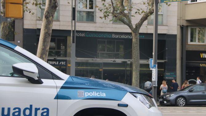 Els Mossos busquen l'autor de la mort d'un nen en un hotel de Barcelona
