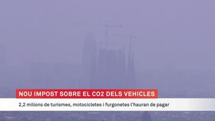 Entra en vigor el nou impost sobre el CO2 dels vehicles