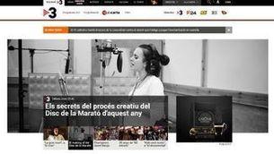 El nou portal de la CCMA, finalista als Online Media Awards en la categoria de millor disseny