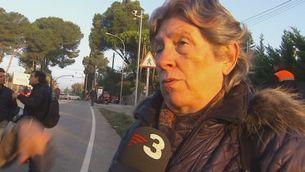 Veïns de Bellaterra tallen la carretera amb Cerdanyola per reclamar la independència