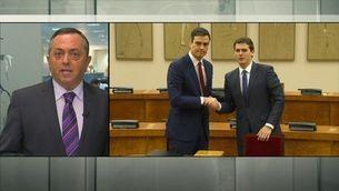 Podem diu no al pacte PSOE-C's