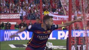 El gol de Jordi Alba