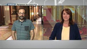 """Benet Salellas: """"Estic més optimista perquè hi ha hagut moviments i hi ha ganes d'arribar a acords"""""""