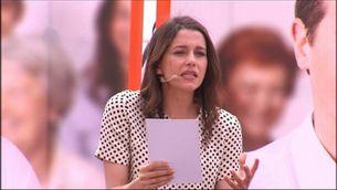 Arrimadas creu que Puigdemont no mereix ser president
