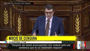 """El PNB dona el """"sí"""" a Pedro Sánchez"""