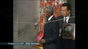 Mor Kofi Annan, el secretari general de l'ONU del consens en temps convulsos