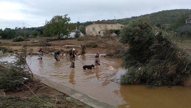10 persones han mort i un nen continua desaparegut pels forts aiguats a Mallorca