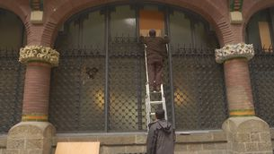 El Liceu, el Lliure i el TNC condemnen l'atac al Palau de la Música durant els aldarulls