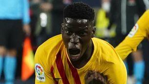 Ilaix Moriba, fora de la convocatòria del Barça B