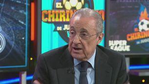 """Florentino Pérez: """"El que volem fer és salvar el futbol"""""""