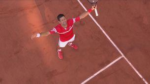 Novak Djokovic guanya per segona vegada Roland Garros