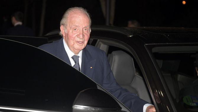 Joan Carles I, el febrer de l'any passat a Madrid (Europa Press / José Oliva)