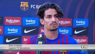 Álex Collado tensa la corda amb el Barça