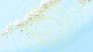 Desactivada l'alerta de tsunami a Alaska per un gran terratrèmol de magnitud 8,2