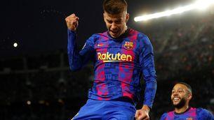Piqué, el defensa més golejador de la història de la Champions