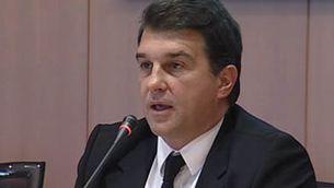 Laporta creu que Guardiola serà entrenador del Barça durant molts anys.