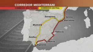 Blanco dóna prioritat al corredor mediterrani