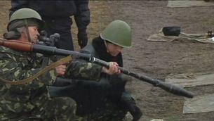 Mobilització de tropes d'Ucraïna