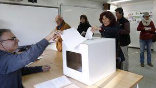 Votacions en el procés participatiu del 9-N