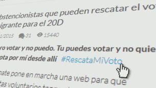 Campanya per cedir el vot a ciutadans que no poden votar