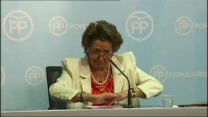 Rita Barberá no es planteja dimitir