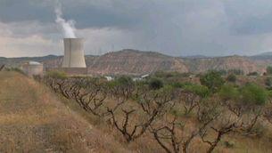 Imatge d'arxiu de la central nuclear d'Ascó