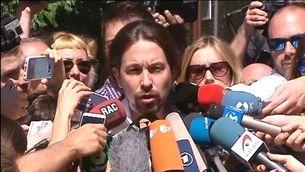 Pablo Iglesias allarga la mà al PSOE