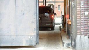 L'arribada de Puigdemont a la presó alemanya de Neumünster