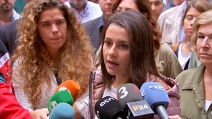 """Arrimadas defensa la moció contra Torra perquè """"ara hi ha goma-2 en el debat polític"""""""