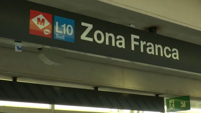 L'estació de Zona Franca de la línia 10 Sud de metro entra en funcionament