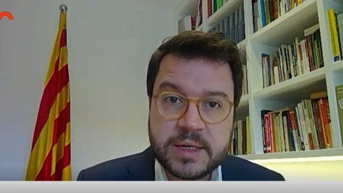 Aragonès xifra en 1.800 milions el sobrecost del coronavirus per al sistema sanitari