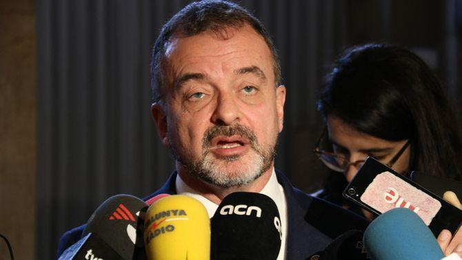 ERC reobre la investigació a Bosch pel cas d'assetjament sexual del seu excap de gabinet