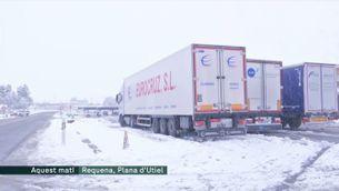 La neu cobreix el País Valencià