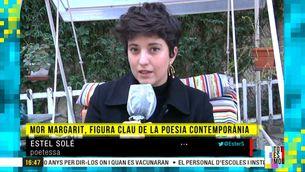 """Estel Solé: """"Joan Margarit era un home de caràcter i un gran conversador que també sabia escoltar"""""""