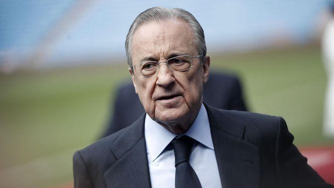 Florentino Pérez es queda sol amb la Superlliga