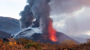 Volcà Cumbre Vieja després col·lapse con 26_10_21 EFE Miguel Calero