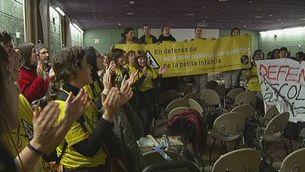 Protestes per l'escola bressol