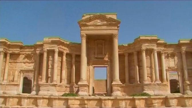 Estat Islàmic dinamita el famós temple de Baal, a la ciutat siriana de Palmira