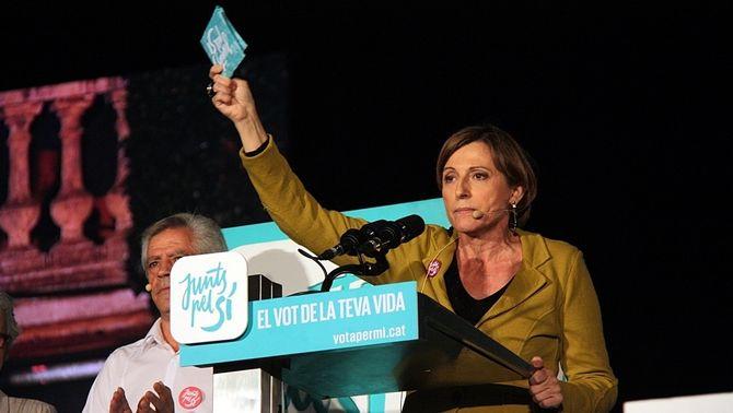 Esquerra Republicana proposa Carme Forcadell com a presidenta del Parlament