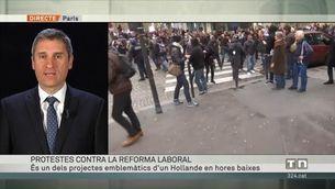 Protestes a França contra la reforma laboral