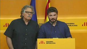 ERC diu que només donarà suport a un govern progressista